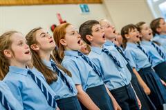 School Choir perform at Derry Feis