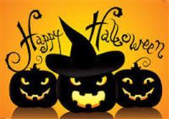 Halloween Holidays School Closed Wed 30th October @ 12 Noon