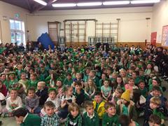 St Patrick's Day Assembly