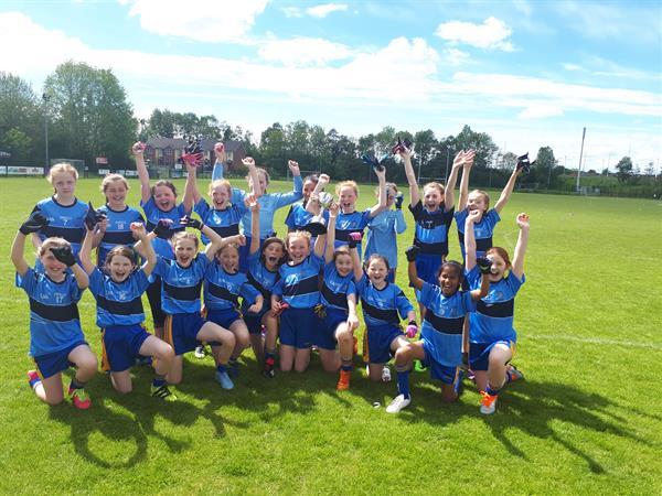 Girls' Gaelic Steelstown Success