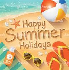 School Closes on  Friday 28th June at 11.30am for Summer Holidays