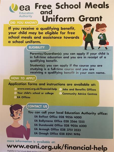 Free School Meals and Uniform Grant