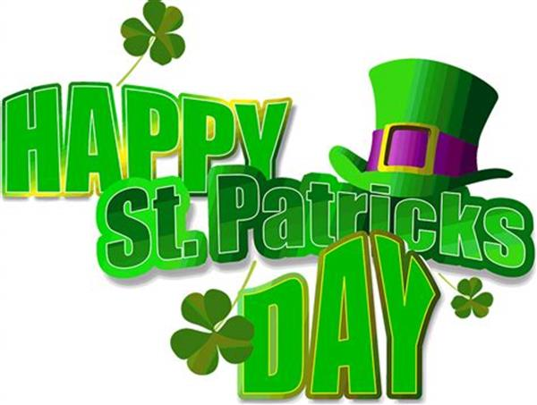 School Closed Monday 18th March for St Patrick's