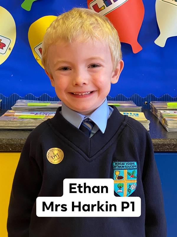 Pupil of the week 28th September 2020