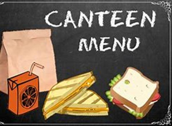 Canteen Menu Jan-Feb 2021