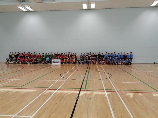 Boys Indoor Gaelic Squad Qualify for All County Finals