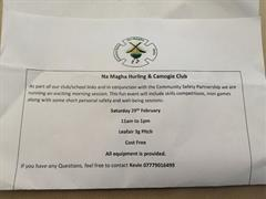 Na Magha Community Hurling/Camogie for P3-6