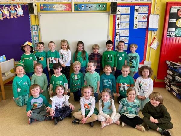 Happy St Patrick's Day from all at Hollybush